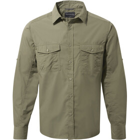 Craghoppers Kiwi Longsleeved Shirt Herren pebble